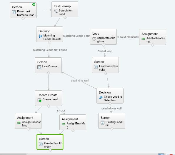 Visual Workflow using Lightning Data Table – tccloud