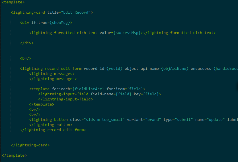 Migrating Aura Component to Lightning Web Component – tccloud